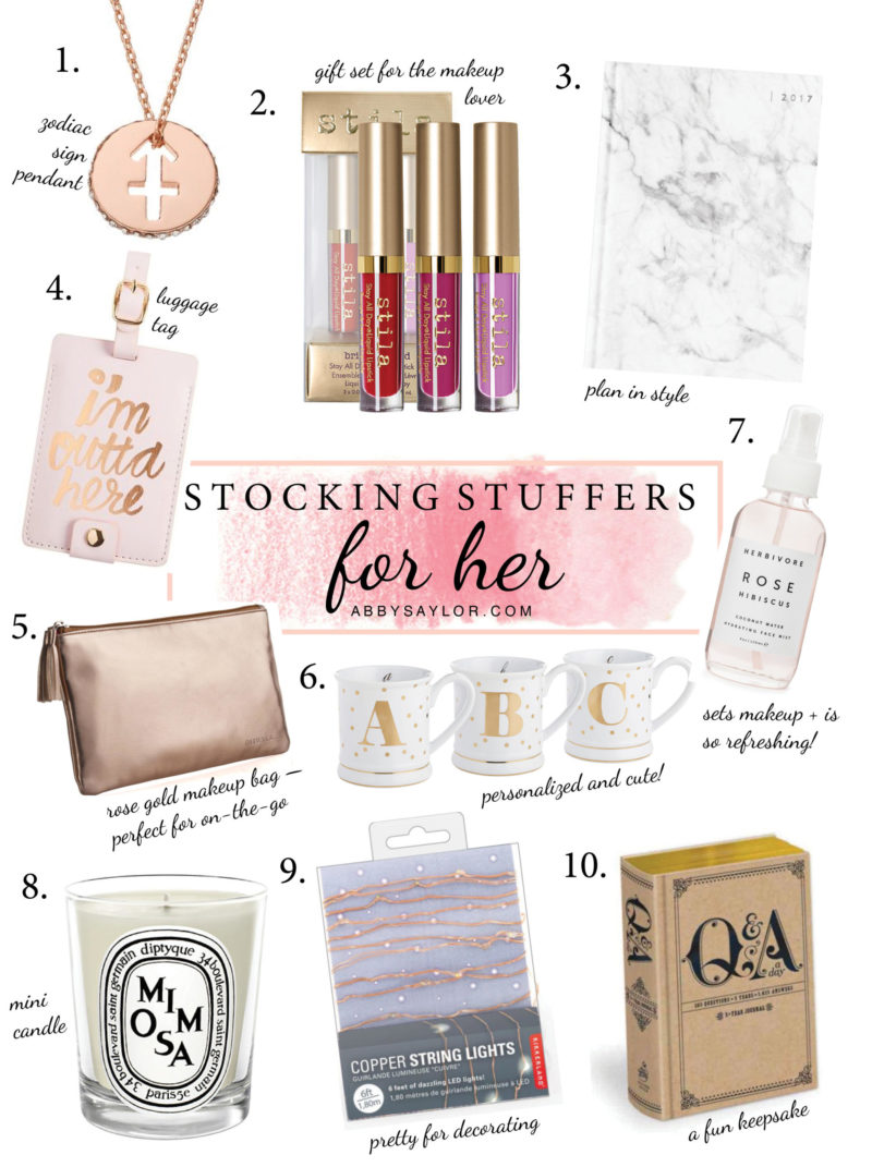 His Hers Stocking Stuffer Ideas 2016 300 Value