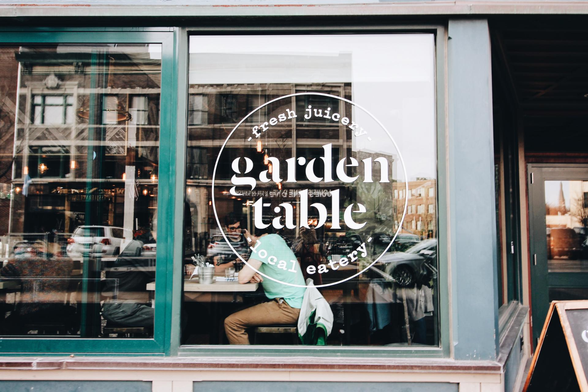 Blogger Double Date At Indys Garden Table Abby Saylor Armbruster - Garden table indianapolis
