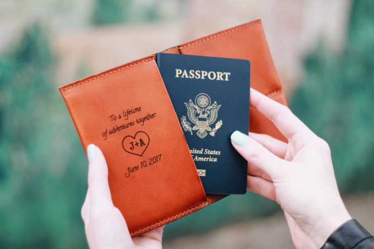 bramble and beene custom passport giveaway