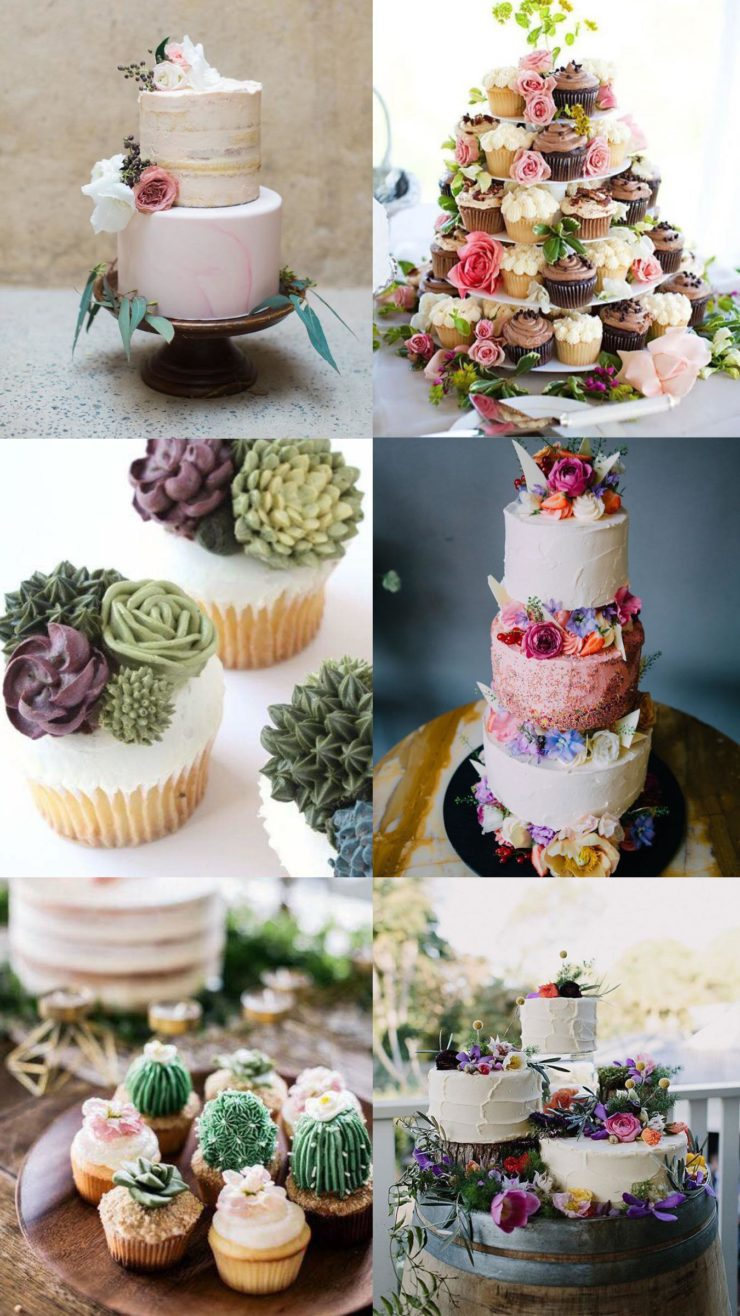 boho wedding food tables