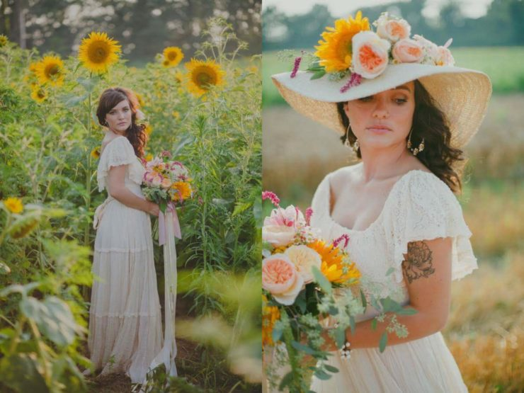Jacki Johnston of Ladybird, indy florist