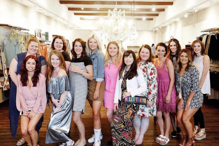 blogger event fira boutique indianapolis