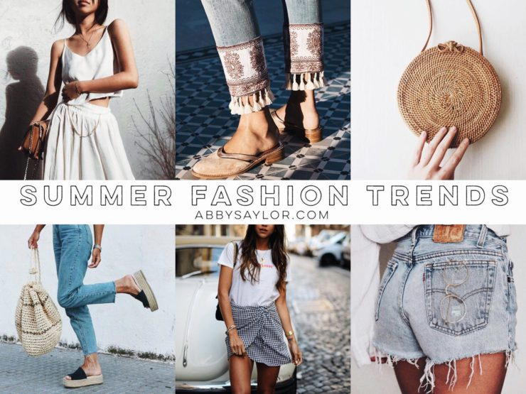 summer 2017 fashion trends