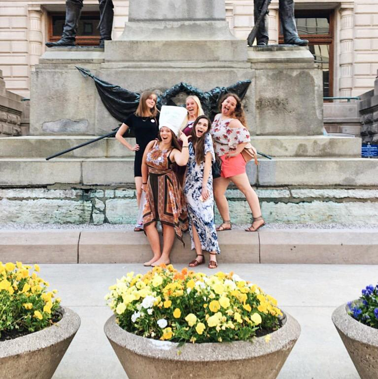 scavenger hunt bachelorette party in downtown indy