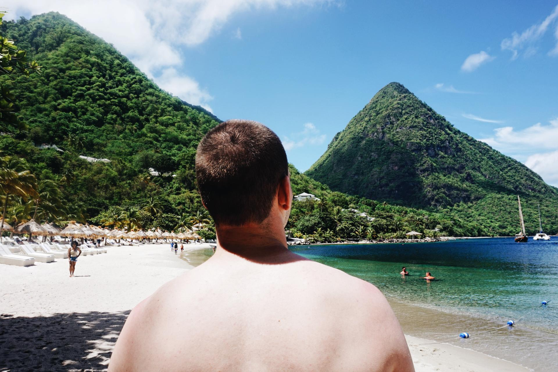 honeymoon in st. lucia