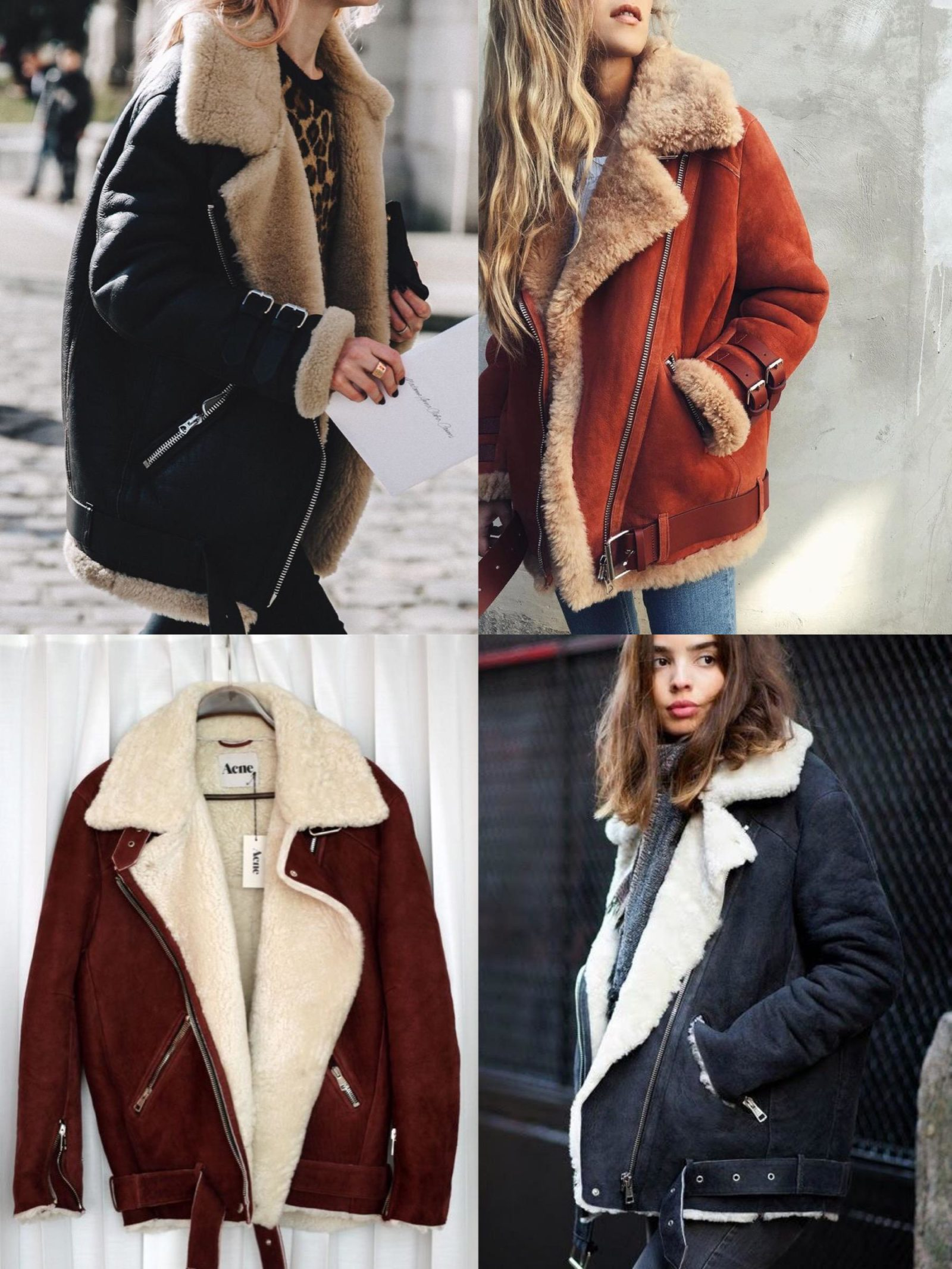Top Fall and Winter Coat Picks for 2017, aviator jacket
