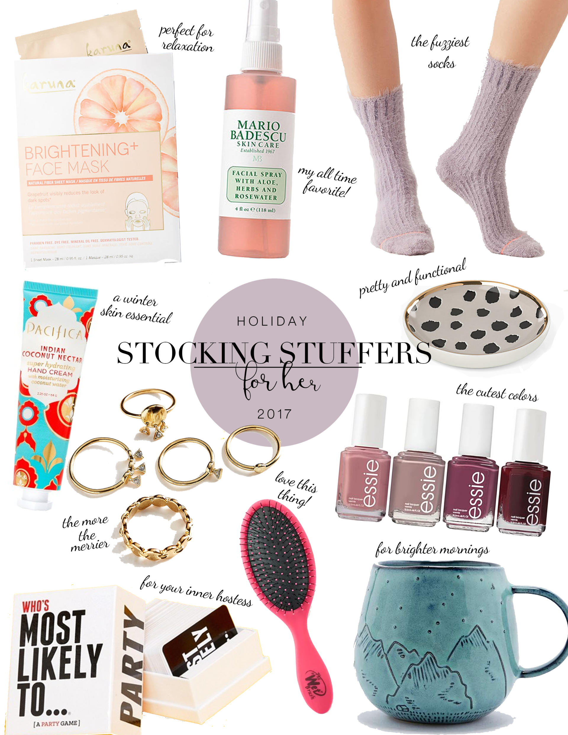 stocking stuffers for her 2017