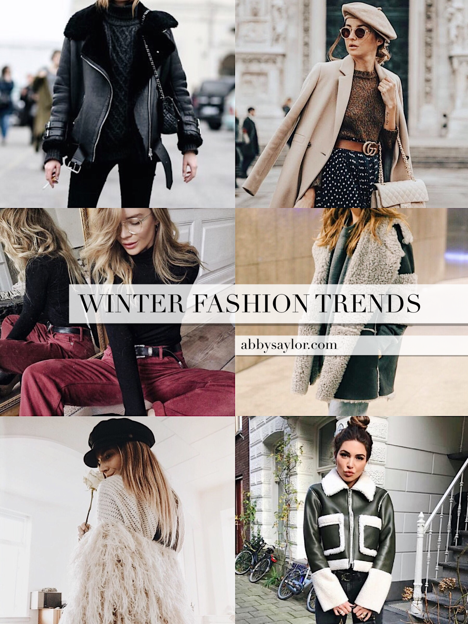 What to Wear in Winter 2018