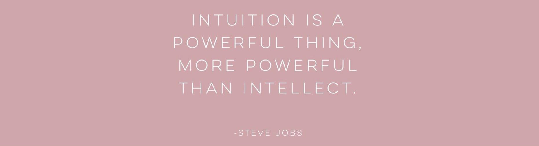 Let's Talk: Listening to Your Intuition and Trusting Your Gut
