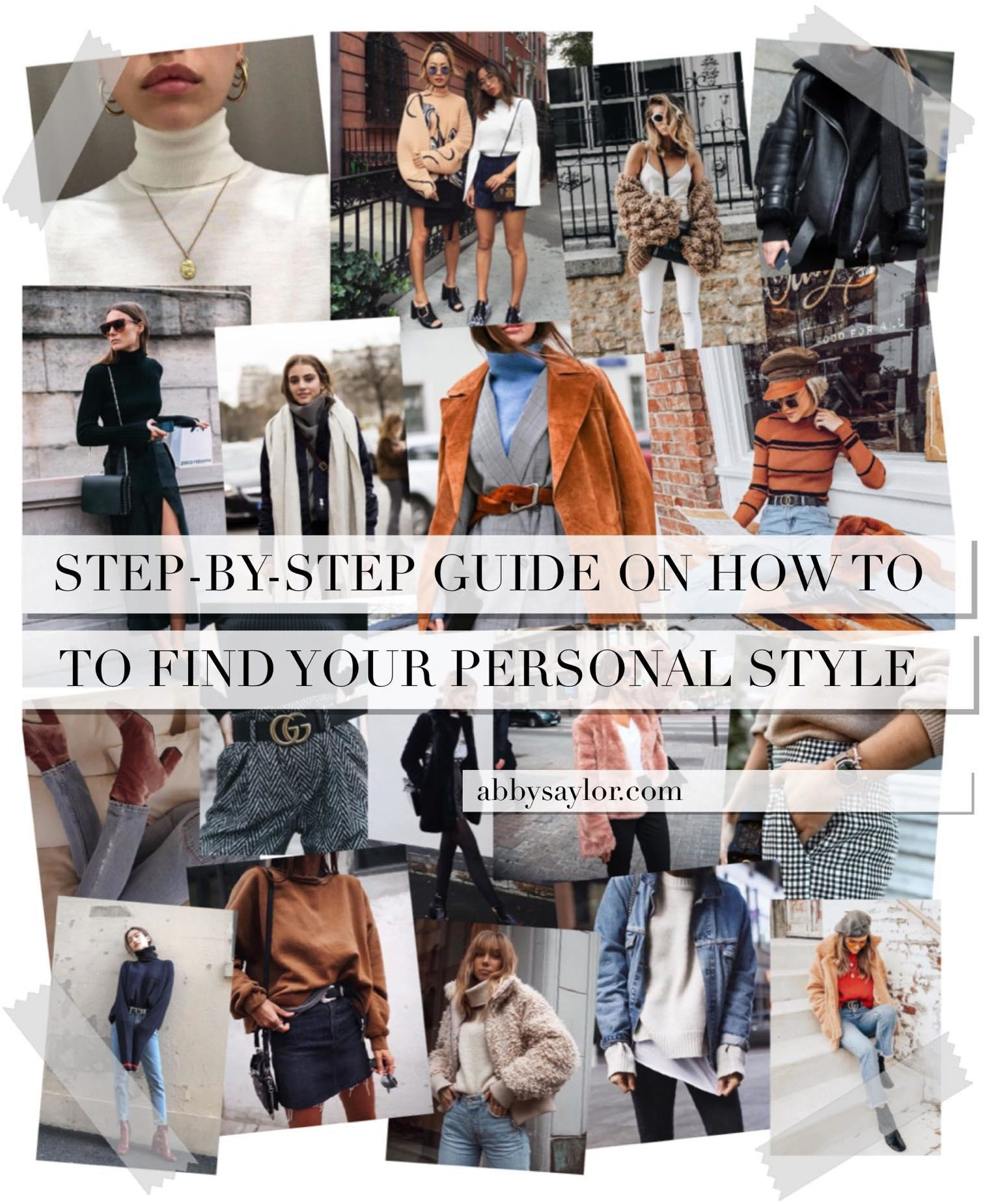 how to find your personal style for guys