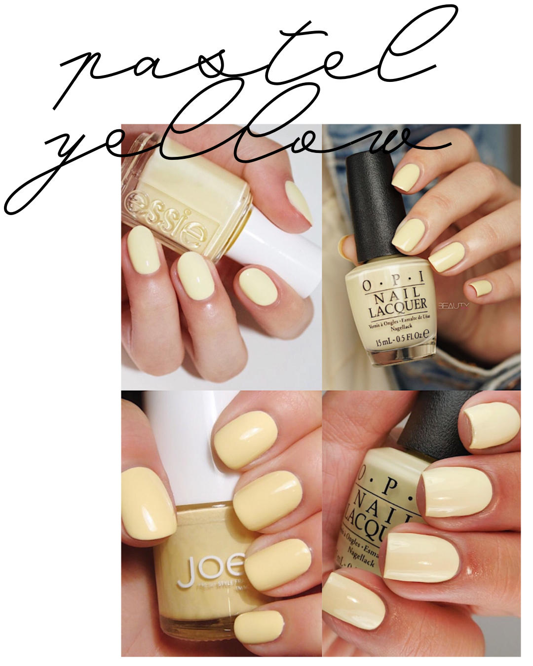 Spring Nail Color Ideas How My Gel Nails Last An Entire Month