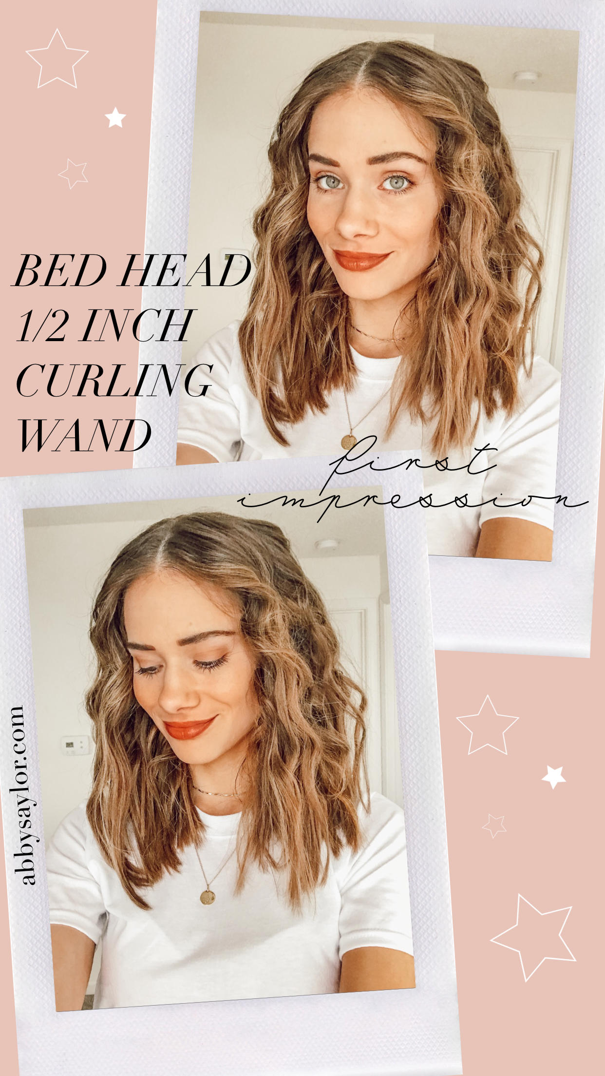 Review Bed Head Curlipop 1 2 Inch Styling Iron Abby