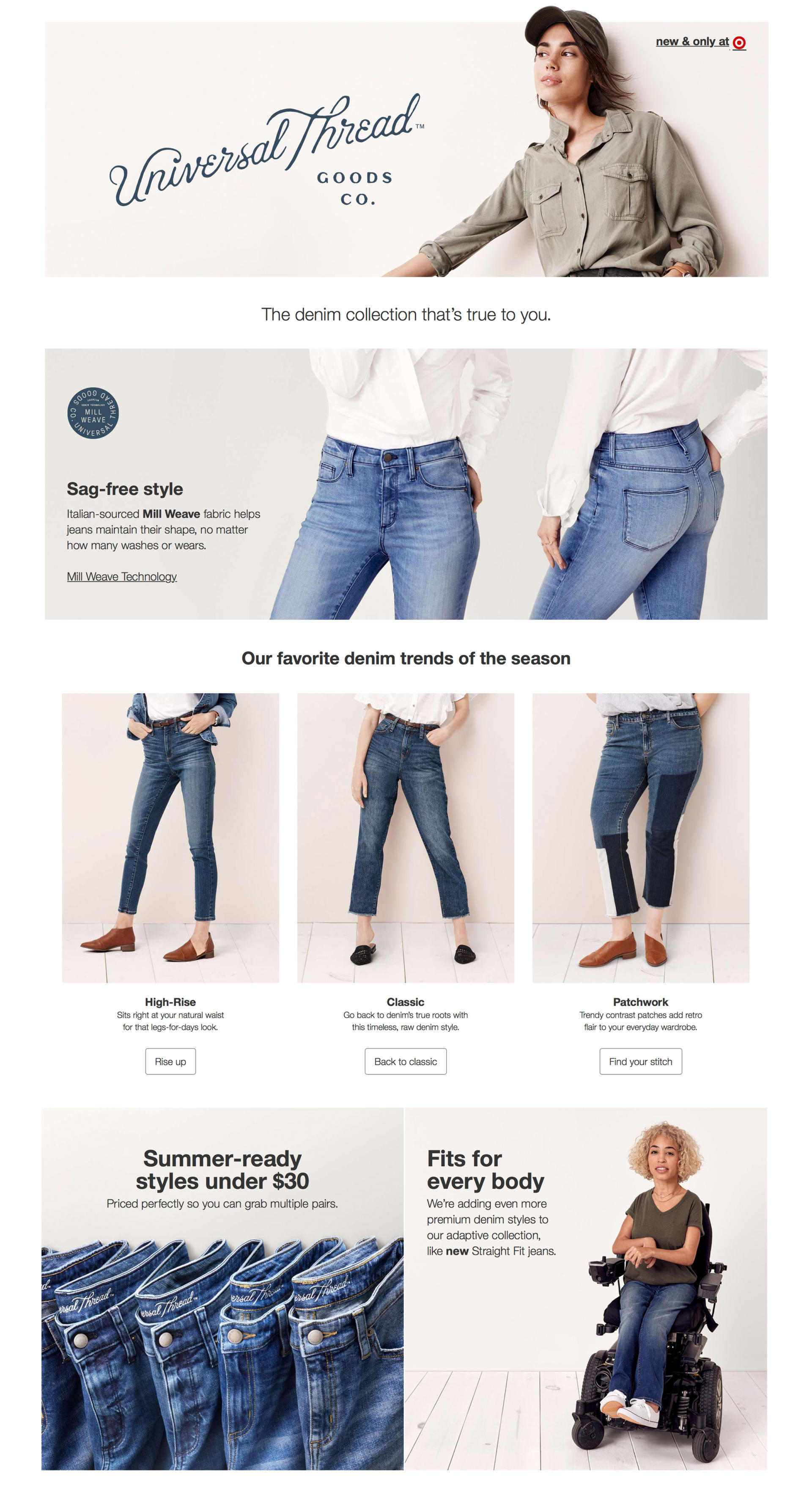 fb65c110f82 Target Jeans  Universal Thread Denim Review - Abby Saylor Armbruster