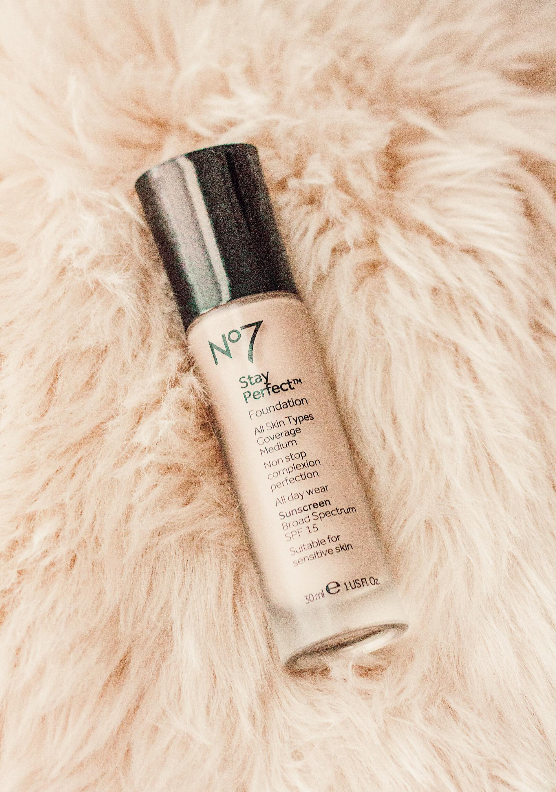 Review No7 Stay Perfect Foundation Abby Saylor Armbruster