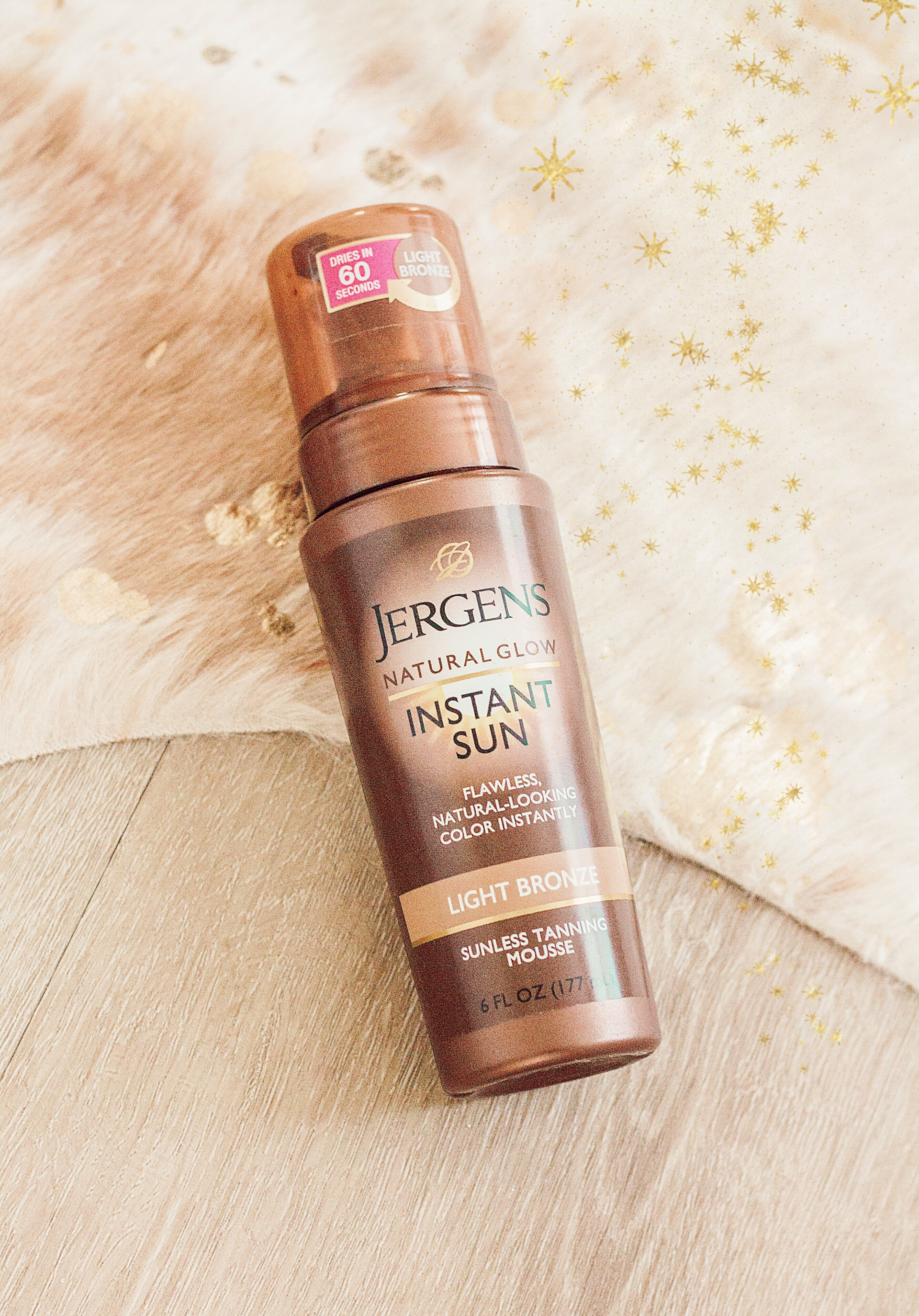 8f1082630154c My Drugstore Self-Tanning Routine with Jergens Natural Glow Instant Sun  Mousse